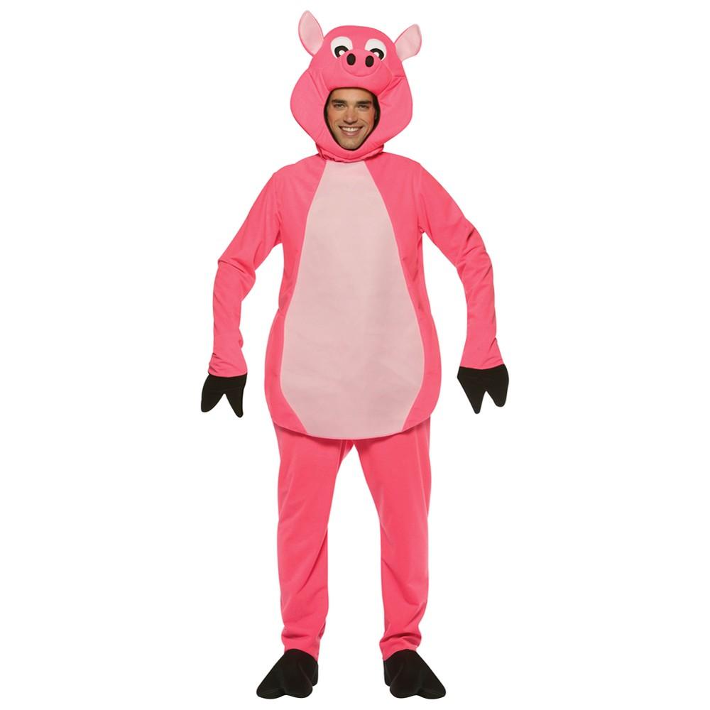 Adult Pig Standard Costume One Size, Adult Unisex