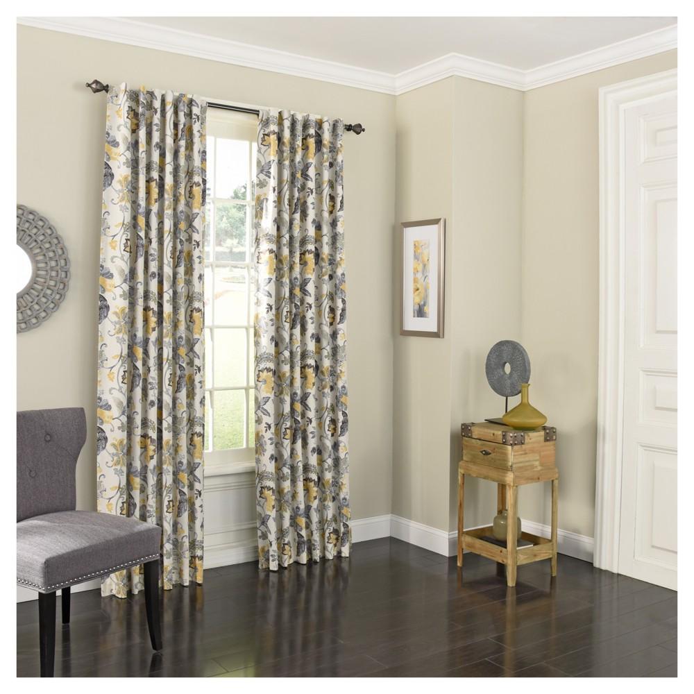 Nina Blackout Curtain Yellow (52