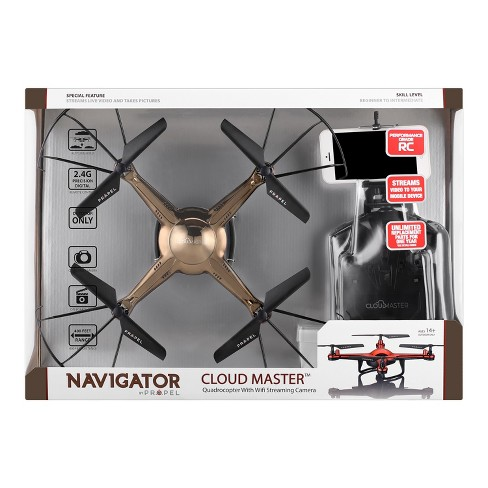 Propel Navigator Cloud Master Drone - Brown - image 1 of 4