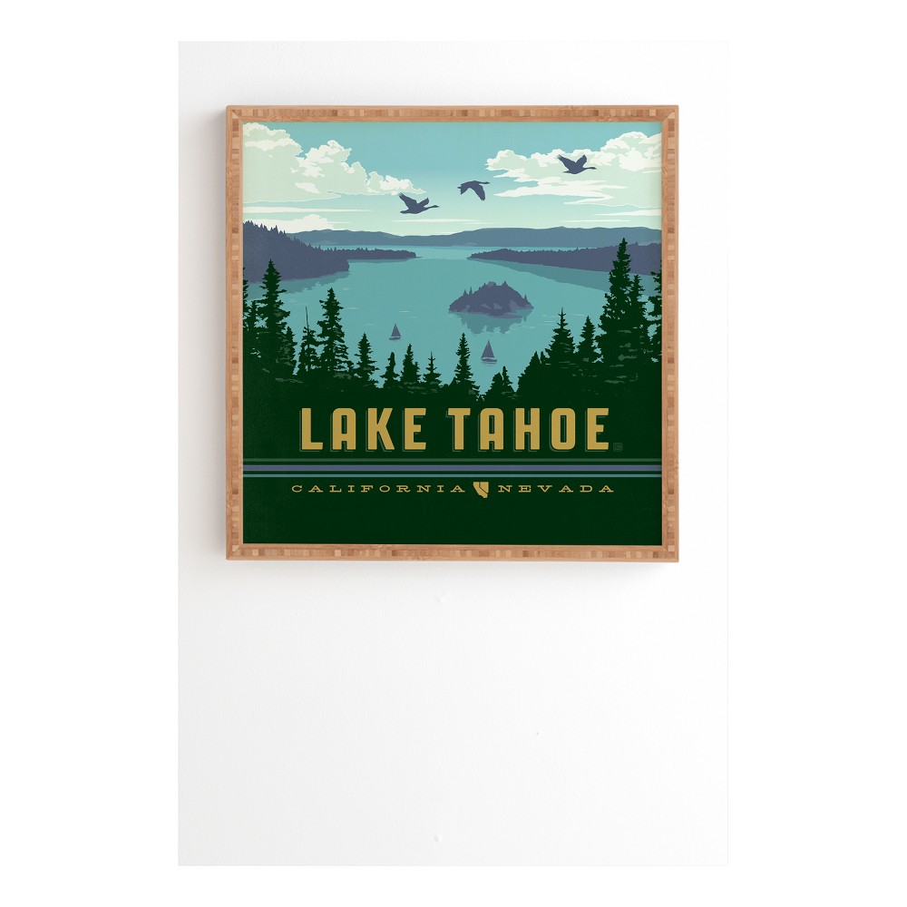 Anderson Design Group Lake Tahoe Framed Wall Art 20