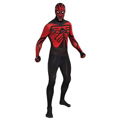 Adult Star Wars Darth Maul Skin Suit Halloween Costume - L