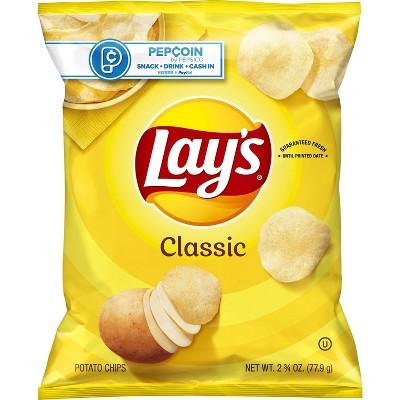 Lay's Classic Potato Chips - 2.88oz