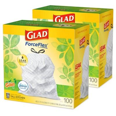Glad 100ct 13G Original Gain - Bundle