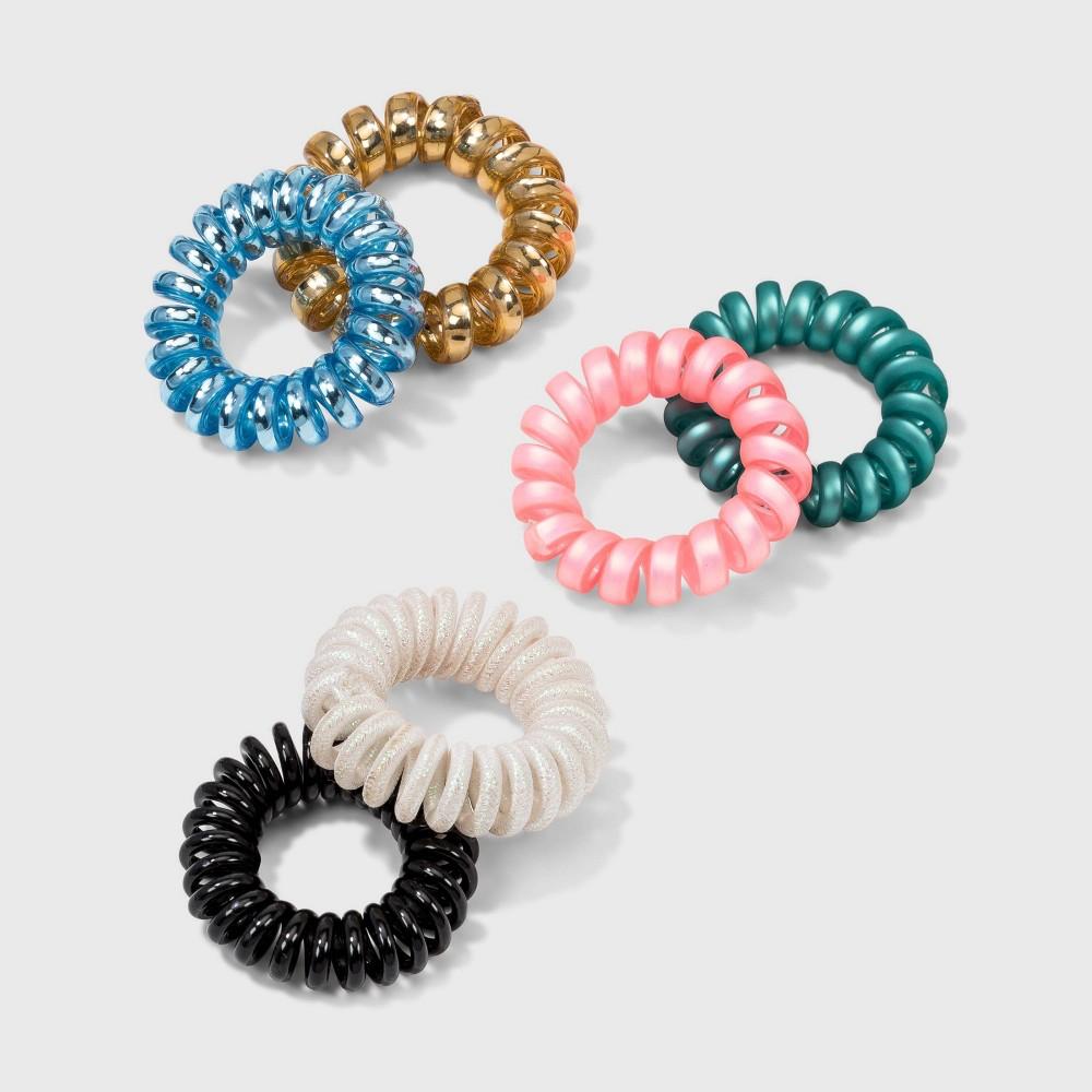 Bold Tones Mini Coils Set 6pc Wild Fable 8482 Multicolor Primaries