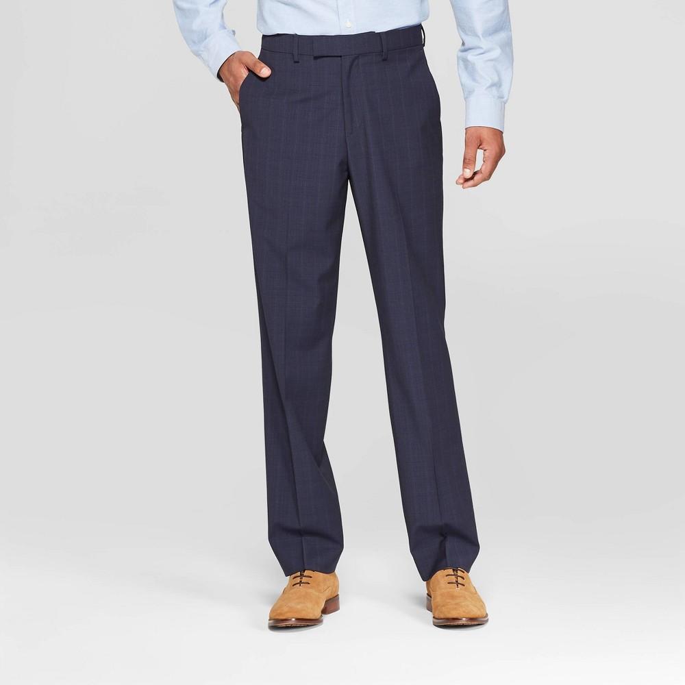 Men's 32 Standard Fit Suit Pants - Goodfellow & Co Navy Voyage 30x32