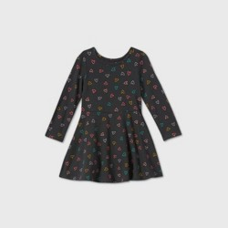 Toddler Girls' Knit Long Sleeve Dress - Cat & Jack™