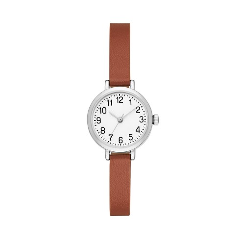 Women's Full Arabic Strap Watch - A New Day™ - image 1 of 1