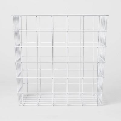 Decorative Baskets Steel White Square - Room Essentials™
