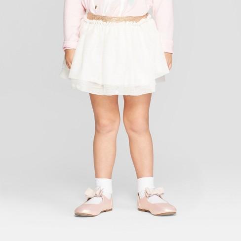 4e6b498e1 Toddler Girls' Tutu Skirt - Cat & Jack™ Cream 5T : Target