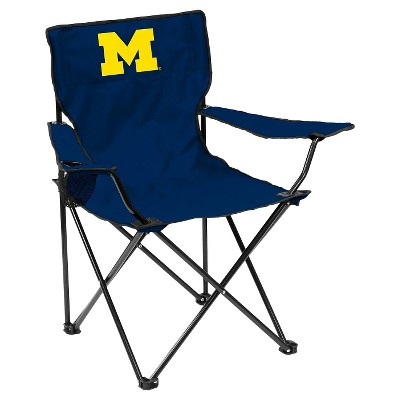 Michigan Wolverines Quad Folding Camp Chair