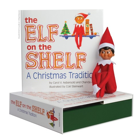 the elf on the shelf a christmas tradition with dark skin tone boy scout elf target - Elf On The Shelf Christmas Tradition
