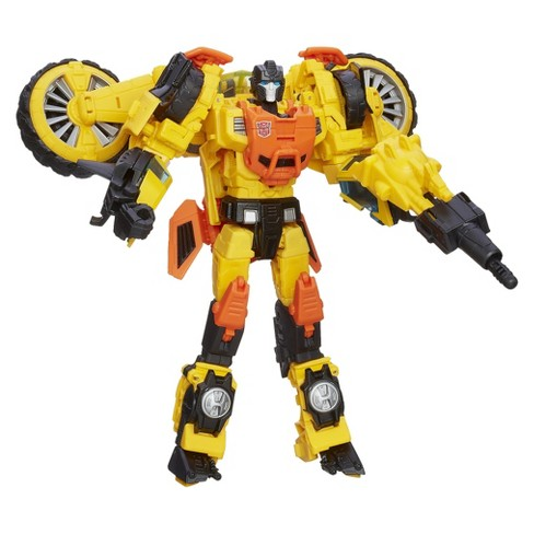 Transformers Generations Thrilling 30 Voyager Class Sandstorm Figure - image 1 of 4