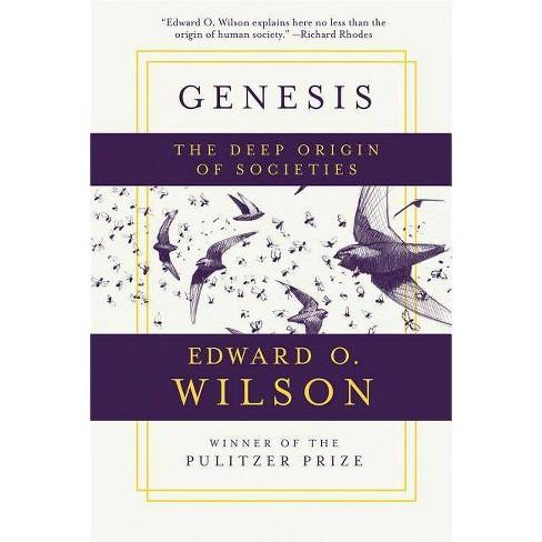 Genesis - by  Edward O Wilson (Paperback) - image 1 of 1