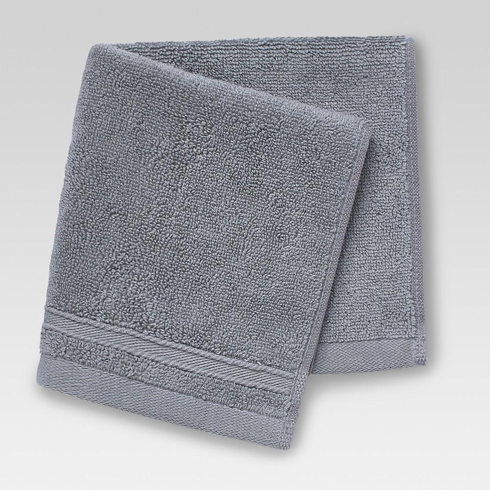 Performance Washcloth Gray - Threshold
