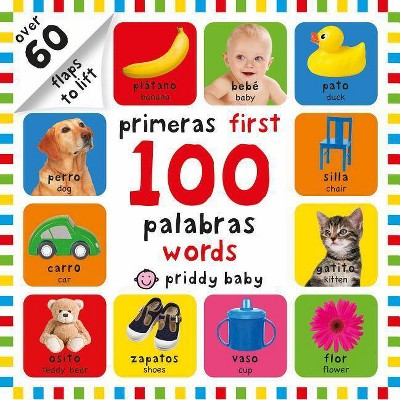 Primeras 100 Palabras/First 100 Words - by Roger Priddy (Board_book)