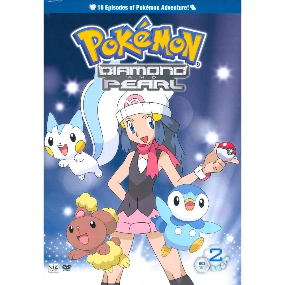 Pokemon: Diamond and Pearl: Box Set 2 (2 Discs) (dvd_video)