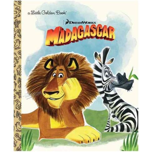DreamWorks Madagascar - (Little Golden Book) by  Billy Frolick (Hardcover) - image 1 of 1