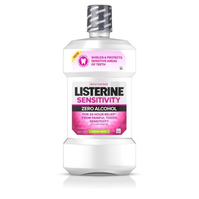 Mouthwash: Listerine Sensitivity