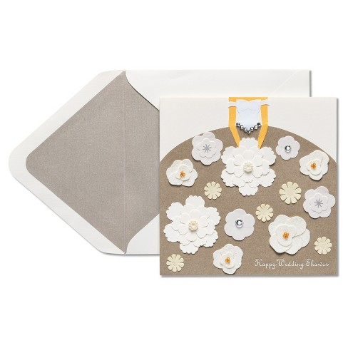 Papyrus Floral Wedding Shower Card - image 1 of 4