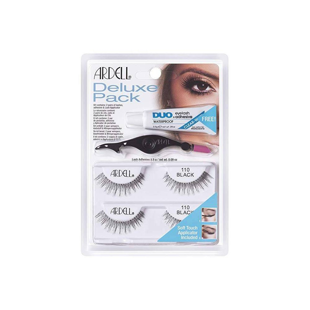 Image of Ardell Eyelash 110 Deluxe Kit Black - 2ct