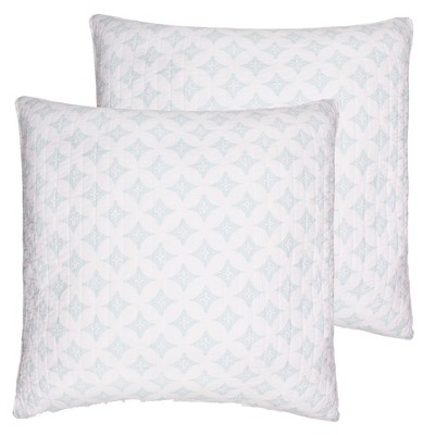 Brookwood Medallion Quilted Euro Sham - 2pk - Levtex Home
