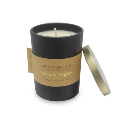 8.47oz Glass Container Candle Havana Nights - The Collection By Chesapeake Bay Candle