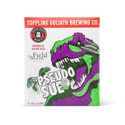 Toppling Goliath Pseudosue Pale Ale Beer - 4pk/16 fl oz Cans