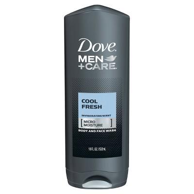 Dove Men+Care Cool Fresh Micro Moisture Invigorating Body Wash - 18 fl oz