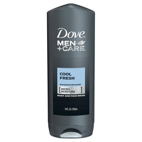 Dove Men+Care Cool Fresh Micro Moisture Invigorating Body Wash - 18 fl oz - image 1 of 3