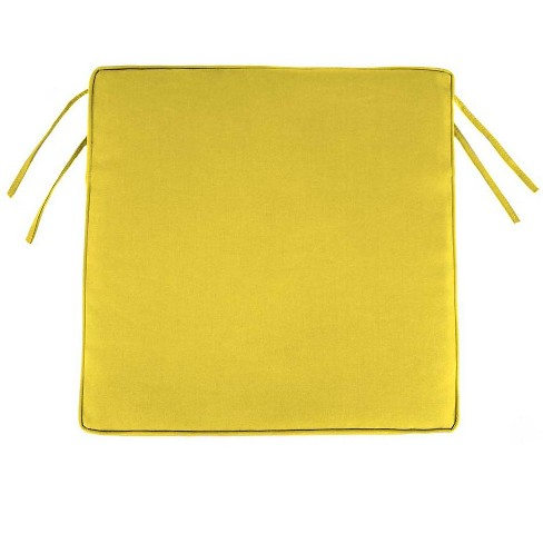 Classic Polyester Outdoor Chair Cushions With Ties Target
