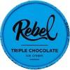 Rebel Ice Cream Triple Chocolate Ice Cream - 16oz - image 2 of 3