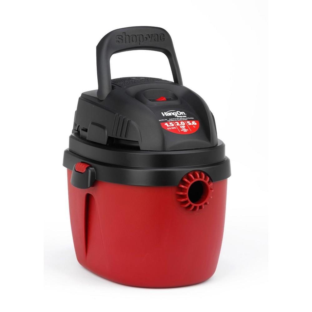 Image of Shop-Vac 1.5gal 2.0 Peak HP Portable - Red