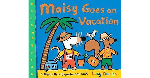 Maisy Goes on Vacation (Reprint) (Paperback) (Lucy Cousins) - image 1 of 1