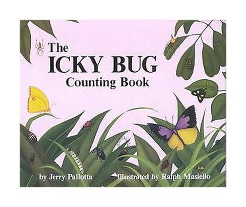 Icky Bug Counting Book (Paperback) (Jerry Pallotta) - image 1 of 1