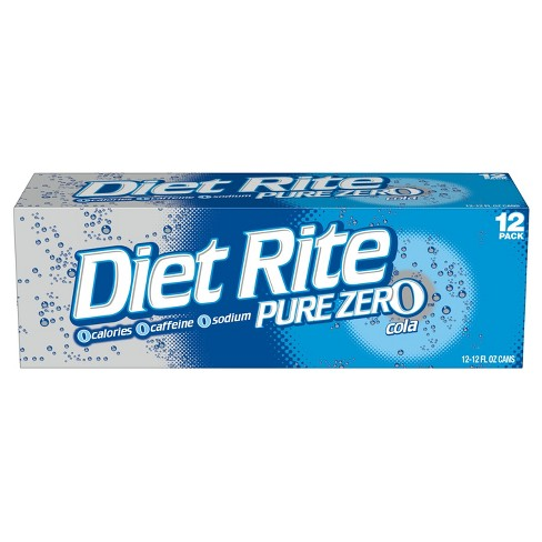 Diet Rite Cola - 12pk/12 fl oz Cans - image 1 of 3