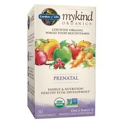 Garden of Life My Kind Organic Vegan Prenatal Daily Multivitamin Tablets - 30ct