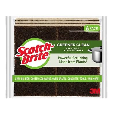 Scotch-Brite Heavy Duty Greener Clean - 6pk