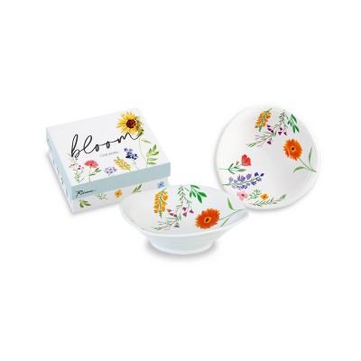8oz Porcelain Bloom Serving Bowl - Rosanna
