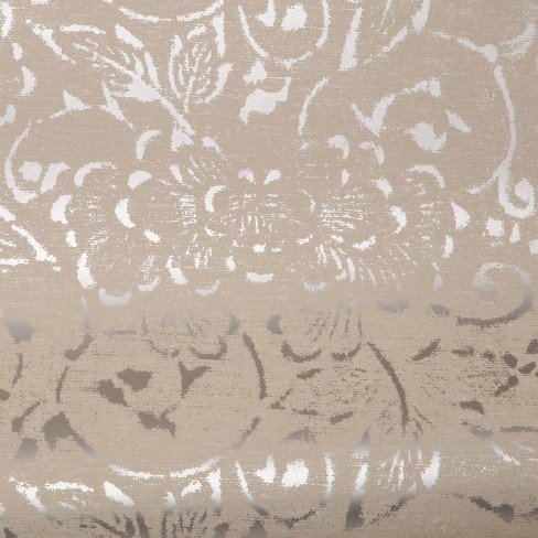 Delphinnia Floral with metallic ground Wallpaper - Threshold™ - image 1 of 4