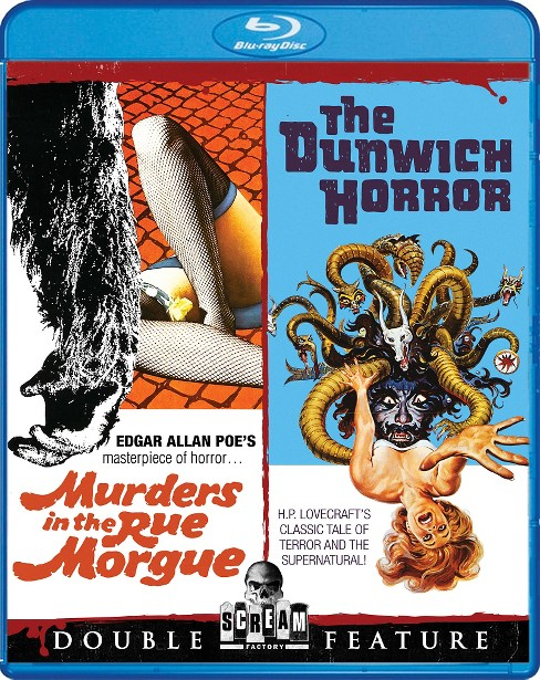 Murders in the rue morgue/Dunwich hor (Blu-ray) - image 1 of 1