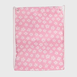 Drawstring Bag with Flowers Pink - Spritz™
