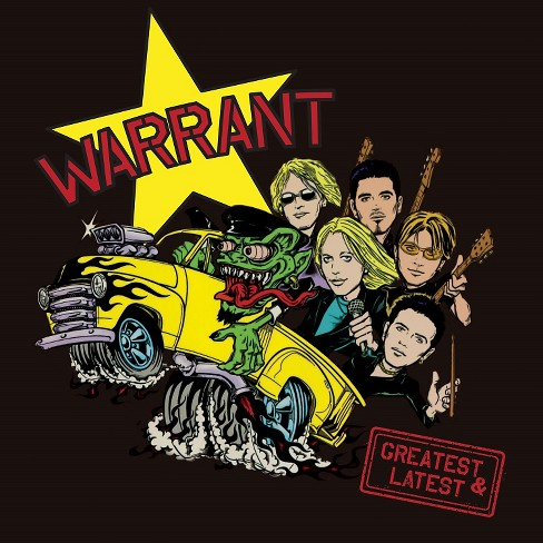 Warrant - Warrant:Greatest & latest (CD) - image 1 of 1