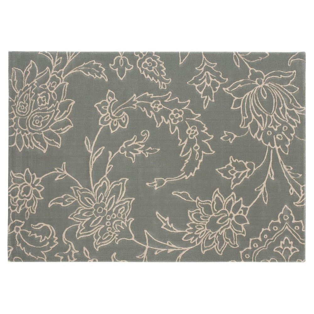 Image of 5'X7' Floral Area Rug Taupe Brown - Balta Rugs, Beige Brown Blue