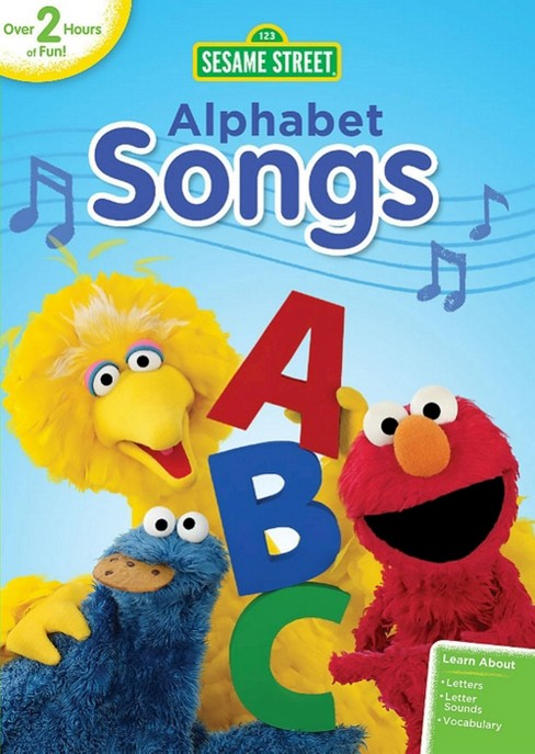 Sesame street:Alphabet songs (DVD) - image 1 of 1