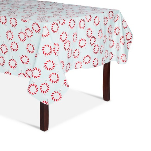White Candy Tablecloth - Wondershop™ - image 1 of 1