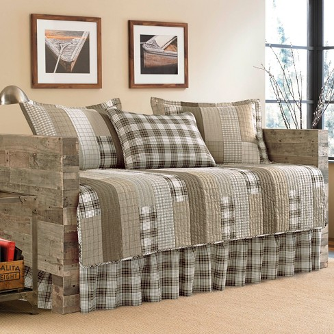 Fairview 5 Piece Daybed Set Daybed - Saddle Brown - Eddie Bauer® - image 1 of 1