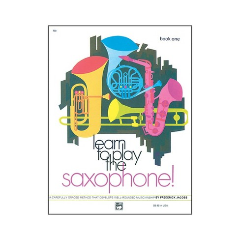 Alfred Learn to Play Saxophone! Book 1 - image 1 of 1