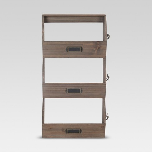 """24""""x12"""" Vertical Bins with Hooks - Threshold™ - image 1 of 1"""