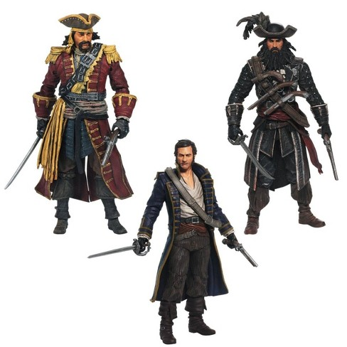 Mcfarlane Toys Assassin S Creed Golden Age Of Piracy Figure 3 Pack