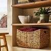 """17"""" x 15"""" Chunky Woven Basket Natural - Threshold™ designed with Studio McGee - image 2 of 4"""